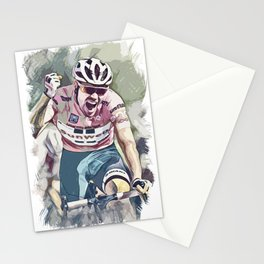 Peloton Pro Cycling World Tour Race Stationery Cards