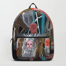 Swimming in the Spirit World Backpack