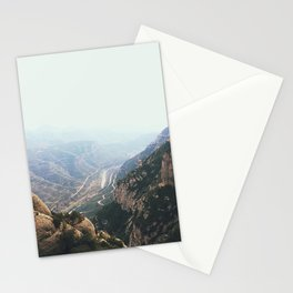 Foggy Views Stationery Cards
