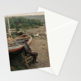 Hans Heyerdahl - View from Åsgårdstrand Stationery Cards