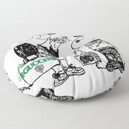 Chuck and Snoop Floor Pillow