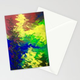 Peacock. Mimosa Inspired Primary Colors. Peacock. Stationery Cards