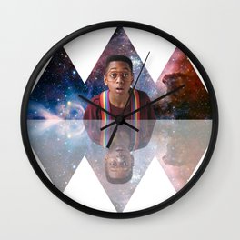 An urk in space and time Wall Clock