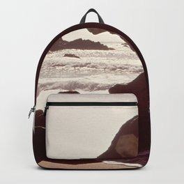 CALIFORNIA GARRAPATA BEACH NARA 543311 Backpack