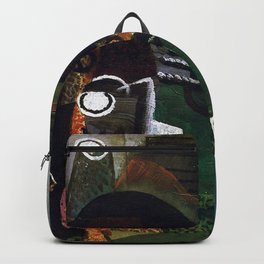 Pablo Picasso Still Life with Green Guitar Backpack