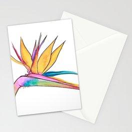 Oiseau du paradis Stationery Cards