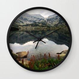 Mountain Lake! Wall Clock