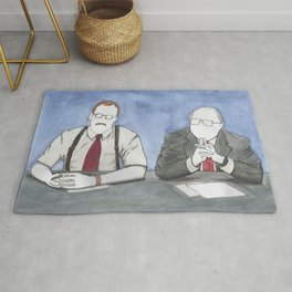 """Office Space - """"The Bobs"""" Rug"""