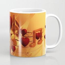 Clef Music Love Coffee Mug