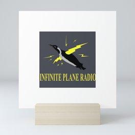 Infinite Plane Radio Mini Art Print