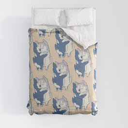 Husky Hugs Comforters