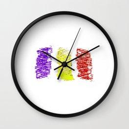 Flag of romania 5 -romania,romanian,balkan,bucharest,danube,romani,romana,bucuresti Wall Clock