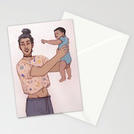 Sirius and baby harry Stationery Cards