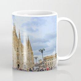 Busy Piazza Duomo Coffee Mug