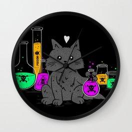 I Think My Cat Wants to Kill Me Wall Clock
