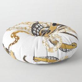 Metallic Octopus Floor Pillow