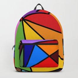 Rainbow Modern Art Backpack