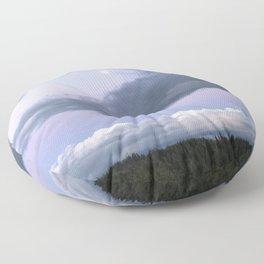 Moon Clouds Floor Pillow