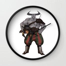 DA crew Iron bull Wall Clock