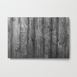 Rustic Texture - Natural vintage decorative material for your home Metal Print
