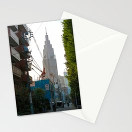 Shinjuku garden view Stationery Cards