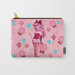 Christmas Sugar Doll Carry-All Pouch