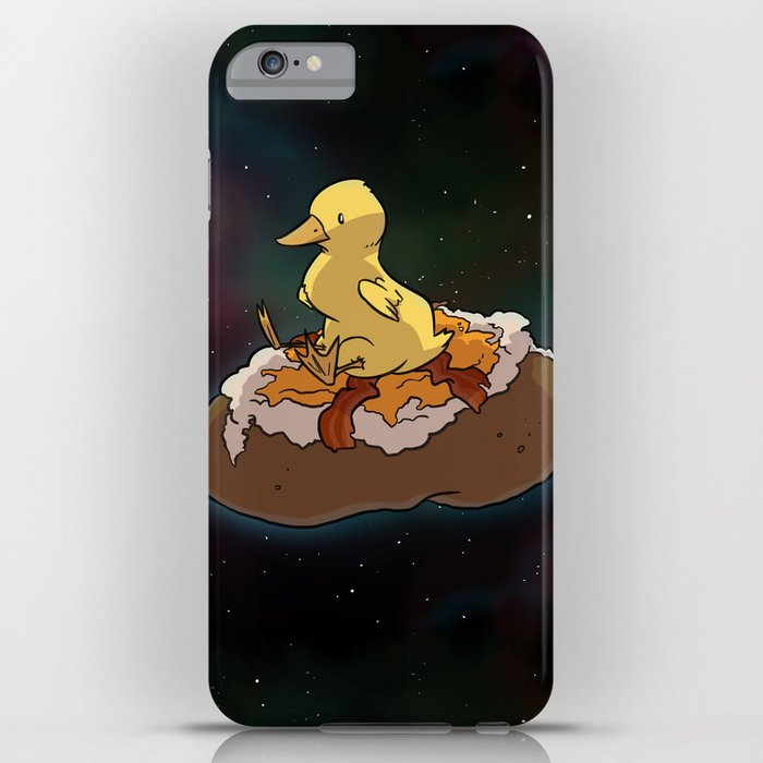 Space Duck iPhone Case