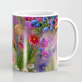 Mushroom Fantasy Garden Coffee Mug