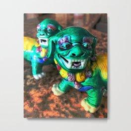 Foo Dog3 Metal Print