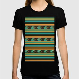 Aztec Mexican Mythological Jaguar Pattern T-shirt