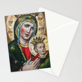 Our Lady of Perpetual Help II Stationery Cards