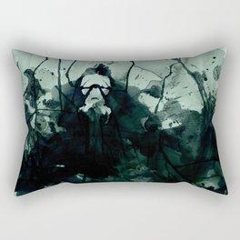 Ink Blot Anxiety Rectangular Pillow