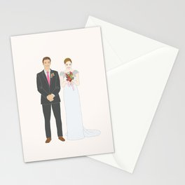 This $75 Custom Portrait Is the Most Thoughtful Wedding Gift Ever Stationery Cards