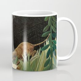 Henri Rousseau - Scouts Attacked by a Tiger Coffee Mug