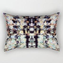 Owl God Totem Rectangular Pillow