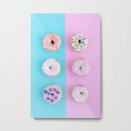 Sweet doughnuts Metal Print