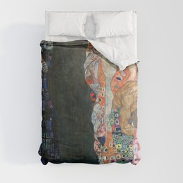 Gustav Klimt - Death and Life Comforters