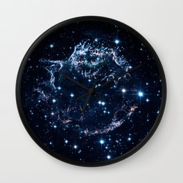 Remains of a supernova explosion. Cassiopeia A Wall Clock