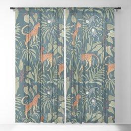 Monkey Business Sheer Curtain