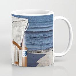 BEACH CHAIR No.69 - Baltic Sea - Isle Ruegen Coffee Mug