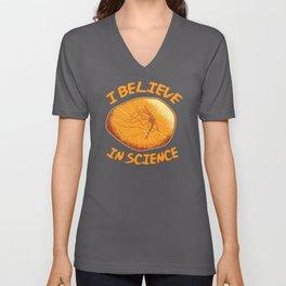 I Believe In Science Unisex V-Neck