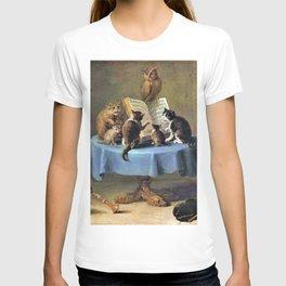 Cat Concert - David Teniers the Younger T-shirt