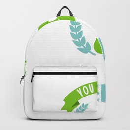 You Had Me At Cello Cello Violoncellist Player String Quartet Backpack