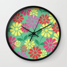 Fresh as a Daisy Wall Clock