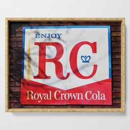 RC Cola Sign Serving Tray