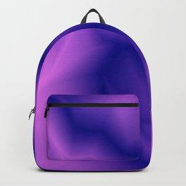 Pastel lines of violet lightning with a vintage gap. Backpack