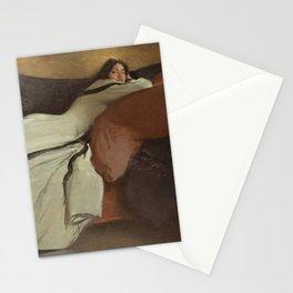 John White Alexander - Repose 1895 Stationery Cards