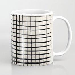 Horizontal & Vertical Lines Coffee Mug