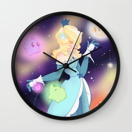 Princess Rosalina Wall Clock