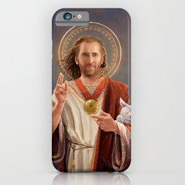 Saint Nicolas of Cage iPhone Case